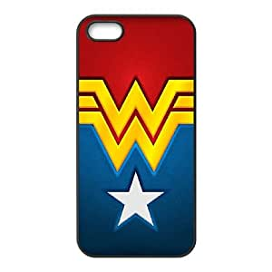 Iphone 5,5S 2D Custom Phone Back Case with Wonder Woman Image