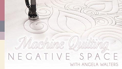 Machine Quilting Negative Space