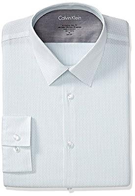 Calvin Klein Men's Xtreme Slim Fit Stripe Shirt