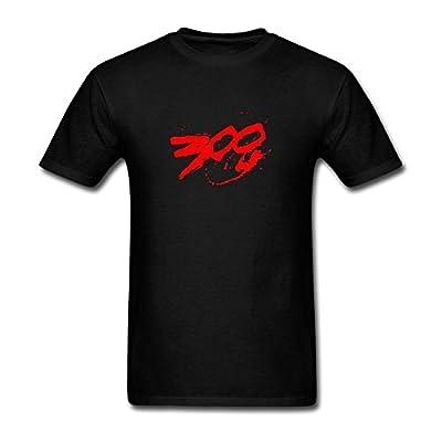 ZHENGXING Men's Montana Of 300 Logo T-Shirt S ColorName Short Sleeve