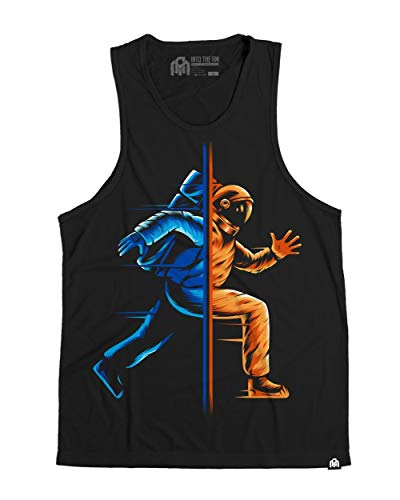- INTO THE AM Between Worlds Men's Graphic Tank Top (X-Large)