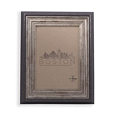 5x7 Picture Frame Antique Brown - Mount/Desktop Display, Frames by EcoHome - Picture Frame ready to Mount on the wall or Easel back to display on desktop. Sturdy picture frame to decorate a wall, Vertically and Horizontally. Made of recycled PS and glass. No trees were cut producing our frames. - picture-frames, bedroom-decor, bedroom - 41hdnbxx0xL. SS400  -
