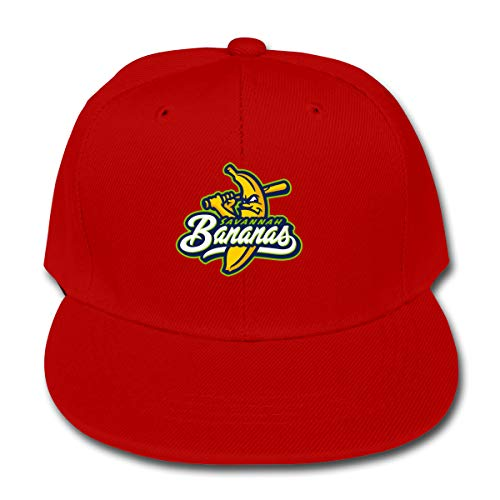 Savannah Bananas Unisex Kids Plain Cotton Adjustable Low Profile Baseball Cap Hat -