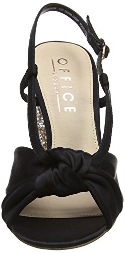Office Women's Hamper Sling Back Heels Black (Black) enjoy online gUJ4ts3T