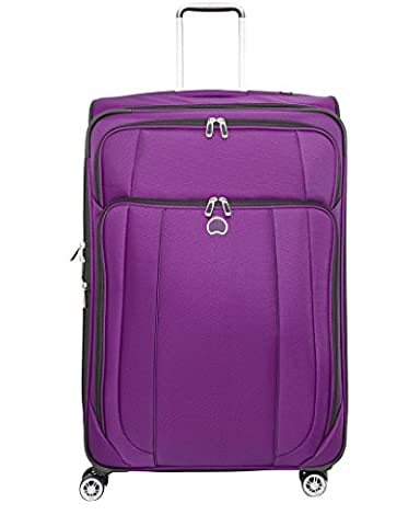 Delsey Luggage Helium Cruise 29 Inch EXP Spinner Suiter Trolley, Purple, One Size - 8 Suiter