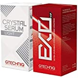 GTECHNIQ Crystal Serum Light 50ml & EXO UDHC v3 50ml, Variety Pack of 2