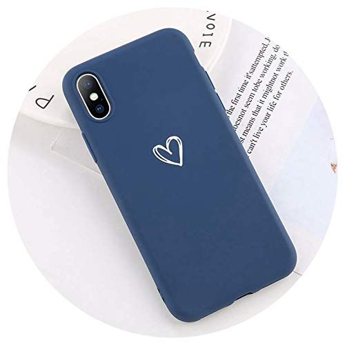 for iPhone 7 Case Love Heart Letter for iPhone 6 6s 8 Plus 5s SE XR XS Max Phone Case Animal Soft TPU Silicon Back Cover,3532N,for 6 Plus 6s Plus (6 J Iphone Letter Case)
