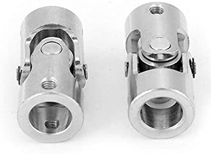 Auto f/ür Boot Ersatzteile Zubeh/ör DIY 2-10 mm U-Gelenk SENRISE Universal-Gelenk Kardanverbinder silber