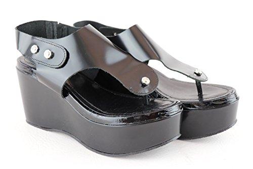 Sandali Separatore Saffh Diesel Attrazione Piattaforma Punta Nero Della Della Di Delle Donne qOSEawOUnx