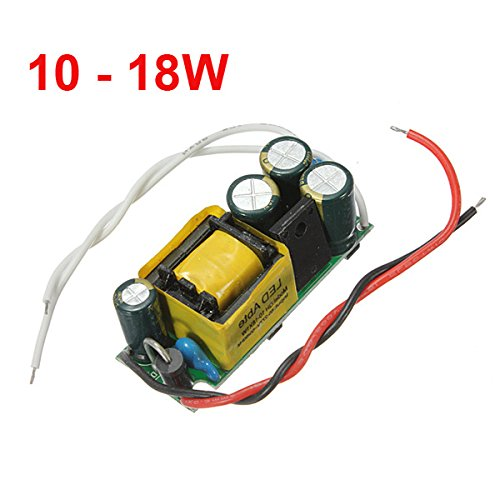 10-18W LED Driver Power Supply Constant Current For Bulb (12v Ac Drill Driver)