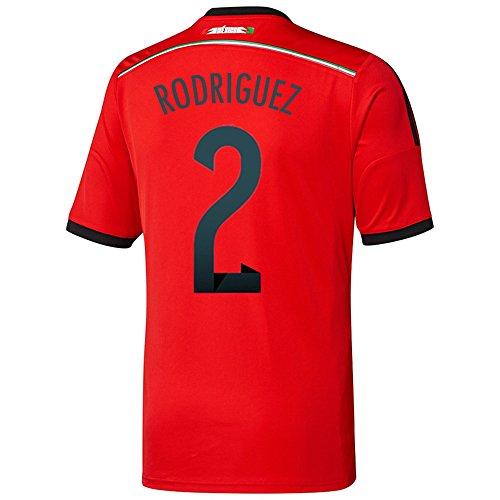 拡大する無謀マルコポーロAdidas RODRIGUEZ #2 Mexico Away Jersey World Cup 2014/サッカーユニフォーム メキシコ アウェイ用 ワールドカップ2014 背番号2 ロドリゲス