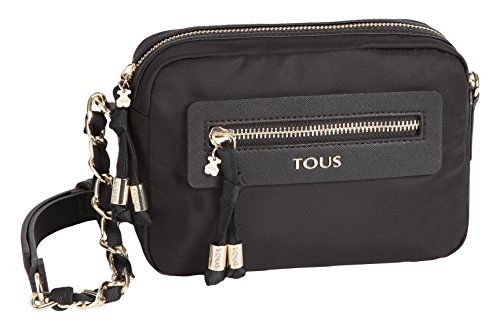 Chain Brunock Bandolera Black Black Tous Bag Womens Messenger wETnBtqtf