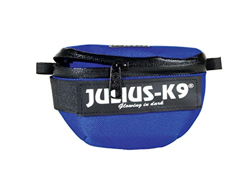 [해외]Julius-K9 1621IDC-B-K IDC 유니버설 사이드 가방 페어, 미니, 블루/Julius-K9 1621IDC-B-K IDC Universal side bags Pair, Mini, Blue