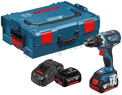 Negro Rojo Bosch Professional 06019E8104 Taladro de Bater/ía Azul
