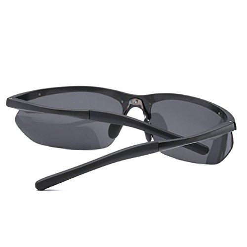 Incassable Vintage Noir JULI Cadre Lunettes Alliage Femme Mode soleil Magnésium Aluminium Sport Noir de Homme Polarisées ttWUCZ7Bq