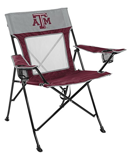 Rawlings NCAA Texas A&M Aggies Unisex 00643061111NCAA Game Changer Chair (All Team Options), Red, Adult