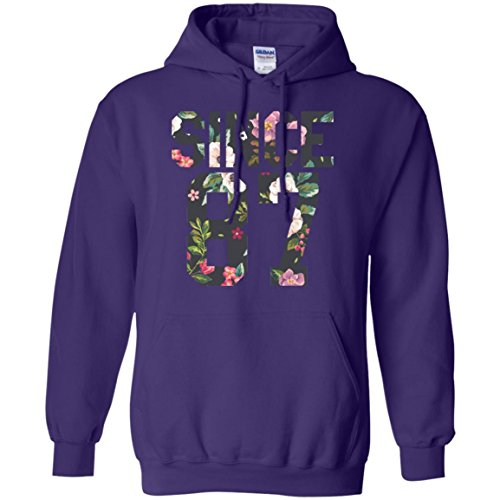 Exclusive Green Day 87 Hoodie, Since 1987, Perfect World Tour Gift, Flower Art Hooded Sweatshirt, Adult Unisex Pullover