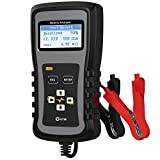 Kzyee KS20 Car Battery Load Tester 100-1700 CCA Automotive Battery Analyzer, Cranking and Charging System Diagnostic Tool for 12/24V Cars, Heavy Duty Trucks and More