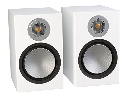 Monitor Audio Silver 100 Bookshelf Speaker Black O...