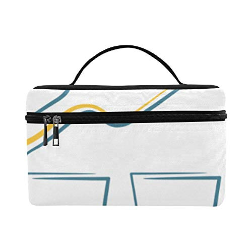 Lunch Box Tote Bag Glass And Cool Drink Lunch Organizer Lightweight For Men Women Boy Traveler Holiday School Boating (Booze Traveler Best Bars)