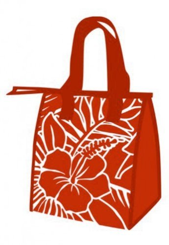 - Hawaiian Small Insulated Lunch Bag Hibiscus Blueprint