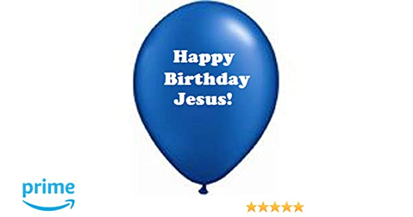 Amazon Dozen Happy Birthday Jesus Balloons Toys Games