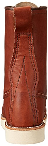 Red Toe Moc Wing 8'' Leather 8830 Classic Marrone Boots Mens pgWUqr1p