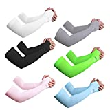 Best Arm Sleeves - Sportout UV Protection Cooling Arm Sleeves,Longer Sun Sleeves Review