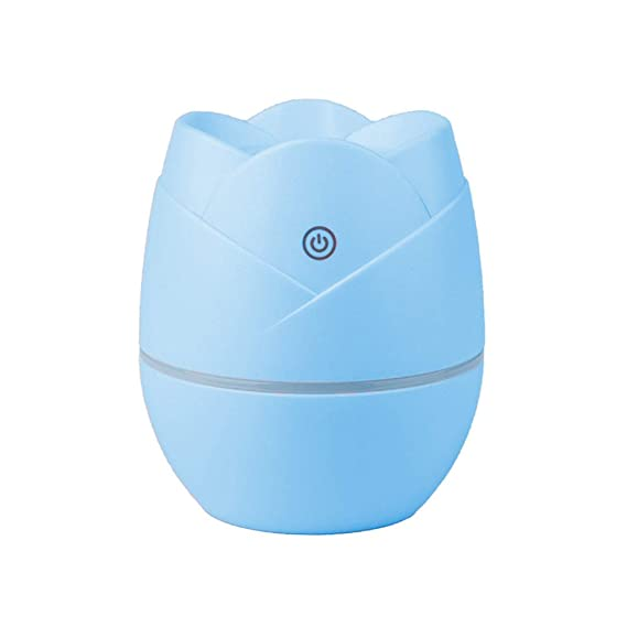 Hanomes Mini humidificador USB Rose Purificador de Aire hidratante ...