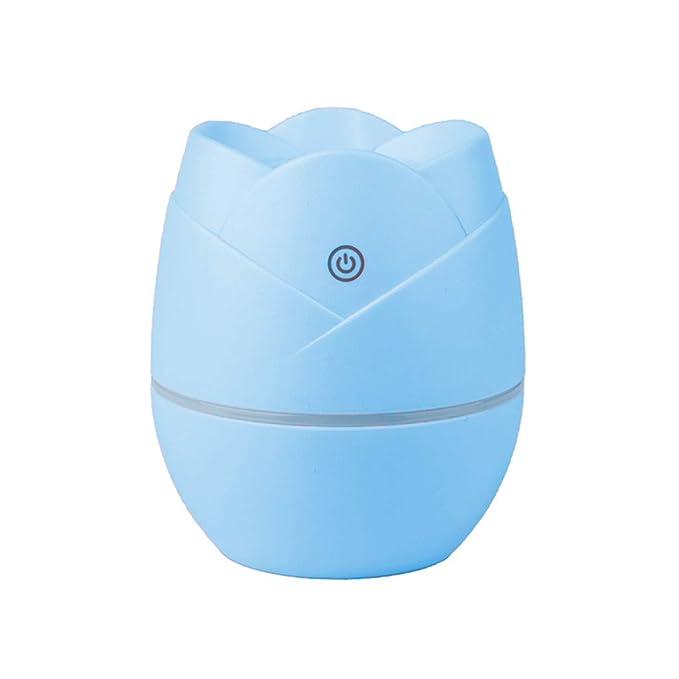 Hanomes Mini humidificador USB Rose Purificador de Aire hidratante del Dormitorio silencioso casero del bebé de Las Mujeres Embarazadas: Amazon.es: Hogar
