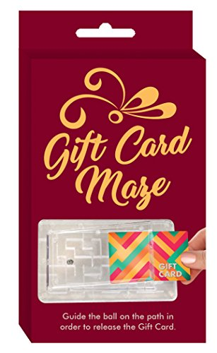 Large Product Image of Gift Card Maze by TechTools - Brain Teasing Maze for Cash or Gift Cards - Fun Challenge Present Holder (6 Pack)