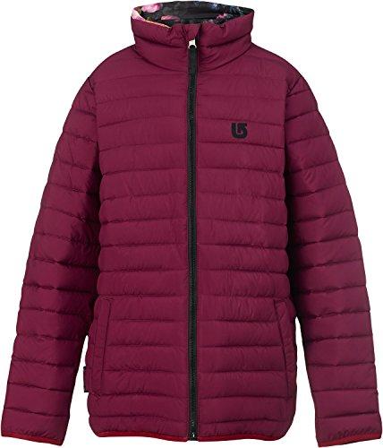 Burton Youth Flex Puffy Jacket, Sangria/Highland Floral, Medium ()