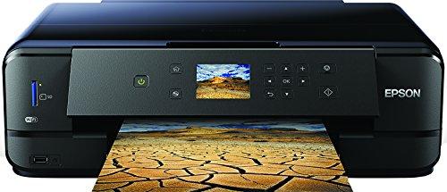 Epson Expression Premium XP-900 3-in-1 Tintenstrahl-Multifunktionsgerät (DIN A3 Drucker, Scanner, Kopierer, WiFi, Duplex, CD/DVD Druck, Einzelpatronen) schwarz