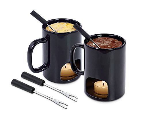 Kovot Personal Fondue Mugs, Set of 2