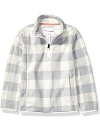 Girl's Quarter-Zip Polar Fleece Jacket