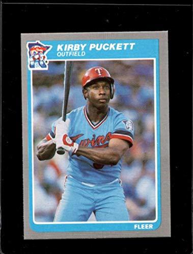 1985 FLEER #286 KIRBY PUCKETT NMMT RC ROOKIE TWINS HOF ()