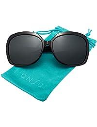 Oversized Womens Sunglasses Polarized uv Protection...