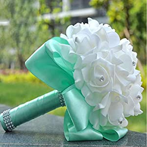 Bridal Bouquets Artificial Silk Flower Bride Artificial Hands Holding Wedding Flowers Wedding Bouquet 60