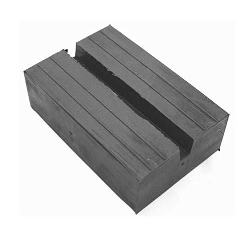 Inserto in gomma per cric e ponte sollevatore 180 x 120 x 60 mm