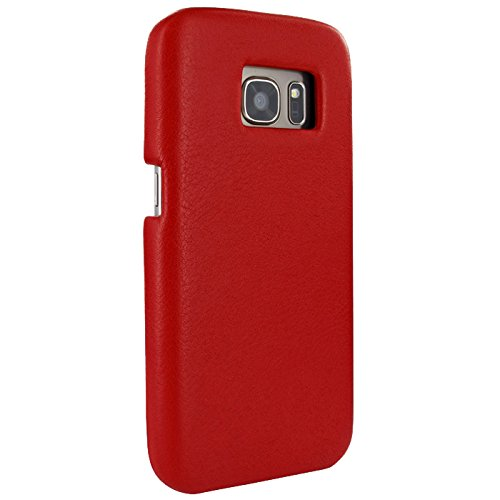 Piel Frama Framagrip Wallet Case for Samsung Galaxy S7 - Red by Piel Frama