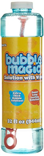 Bubble Magic Solution with Wand for Kids Age 3 and Up (B07W693R93) Amazon Price History, Amazon Price Tracker