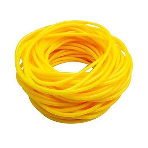 ZAKIA 25pces Mixed Gummy Silicone Wristbands Bracelets Bands Shag Rubber Gummies Bangles Wristbands (Yellow)
