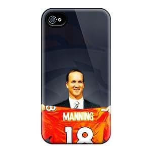 Hard Plastic Iphone 4/4s Case Back Cover,hot Denver Broncos Case At Perfect Diy