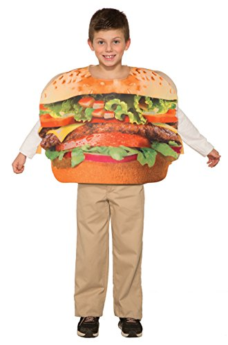 Forum Novelties Kids Hamburger Costume, One Size