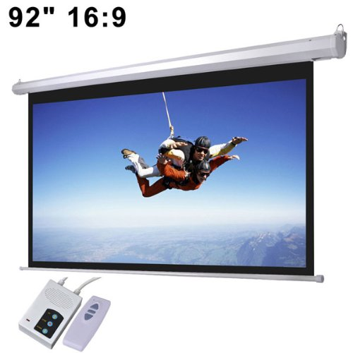 CHIMAERA 92'' Automatic Electric Projector Screen Wall Mounted 16:9 by CHIMAERA