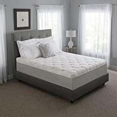 Experience deep, cool, restful sleep with the Novaform Serafina Pearl Gel Memory Foam Mattress, Plush feel. This luxurious extra-thick mattress includes two extra comfortable features: ComfortLuxe Gel Pearls, our most advanced cooling technol...