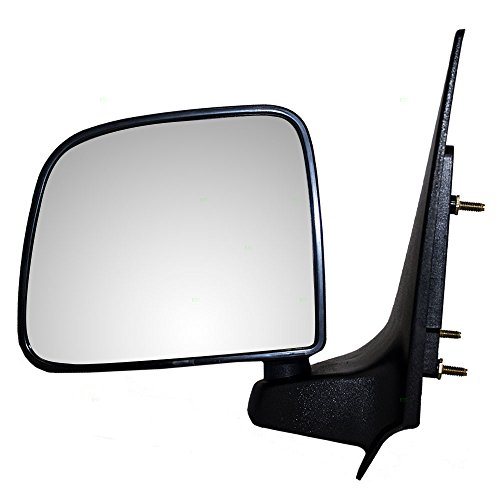 2005 Ford Ranger Mirror - Drivers Manual Side View Mirror Replacement for Ford Mazda Pickup Truck ZZP069180