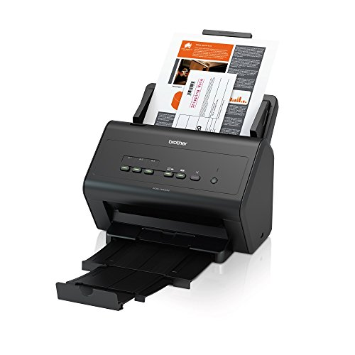Brother ADS-3000N High-Speed Desktop Scanner Black