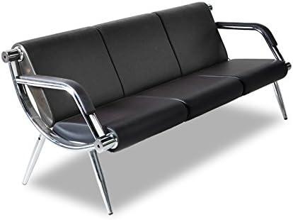 Amazon.com: Bestmart INC - Sofá de oficina de 3 plazas de ...