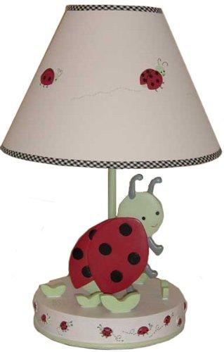 Amazon kids line lamp base shade lady bug baby kids line lamp base shade lady bug mozeypictures Choice Image